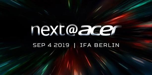 Next@Acer 2019 на IFA