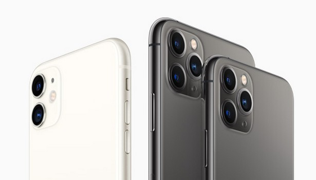 Apple iPhone 11 all three