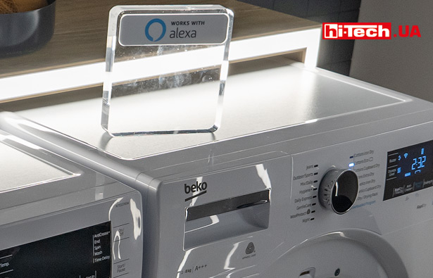 Стиральные машины Beko с поддержкой голосового управления Amazon Alexa