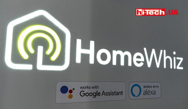 HomeWhiz с поддержкой Amazon Alexa и Google Assistant