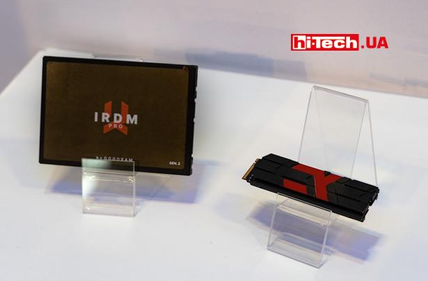 2,5-дюймовые SSD-диск GOODRAM IRDM PRO второго поколения (IRDM PRO GEN 2)
