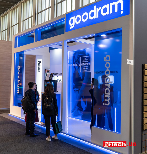 GOODRAM на выставке IFA 2019