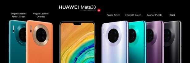 Huawei Mate 30 colors