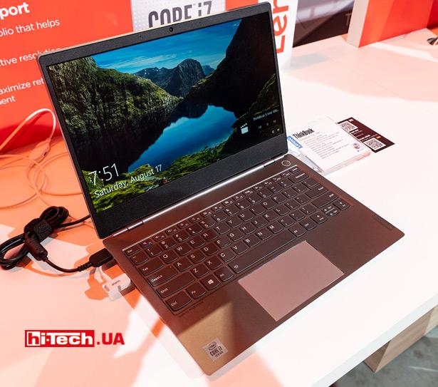 13-дюймовый Lenovo ThinkBook 13s с процессором Intel Core десятого поколения