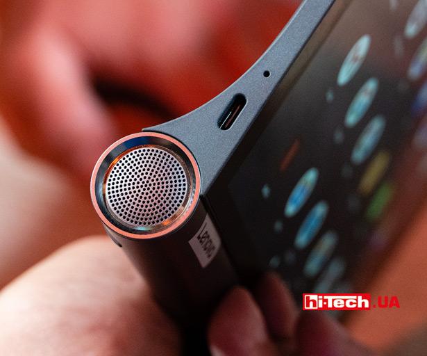 В Lenovo Yoga Smart Tab установлены довольно продвинутые аудиоколонки