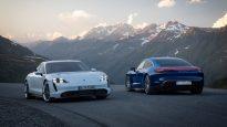 электрический Porsche Taycan