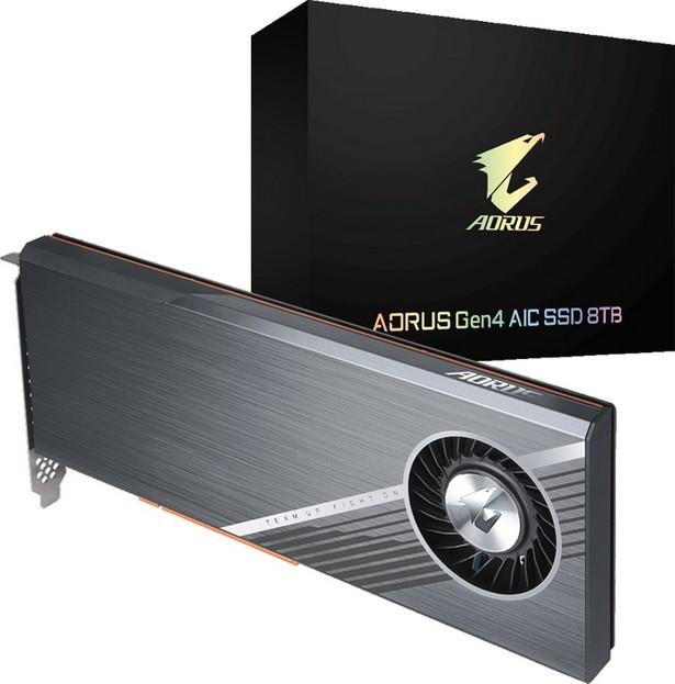 SSD Gigabyte Aorus Gen4 AIC