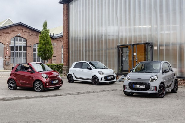 Smart EQ ForTwo, ForTwo cabrio и ForFour