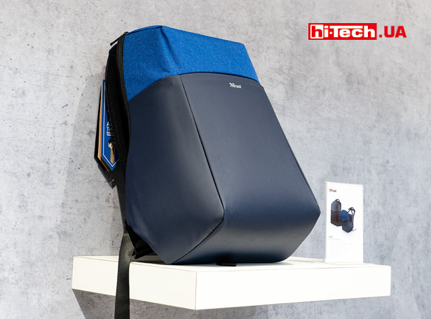 Рюкзак Trust Nox Anti-theft Backpack с защитой содержимого от кражи