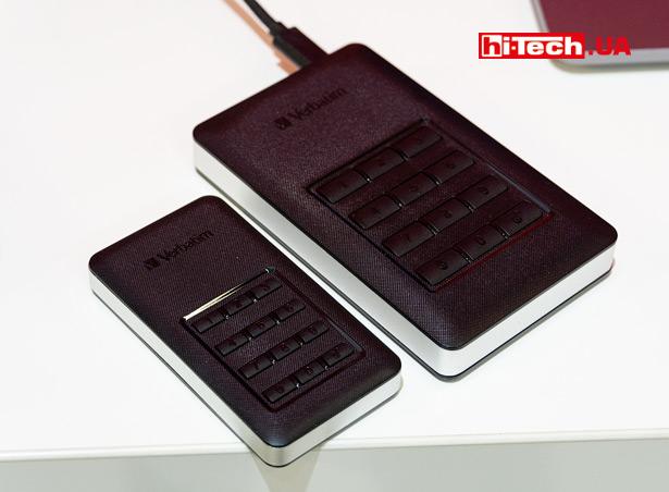 Verbatim Store 'n' Go Secure Portable SSD и Store 'n' Go Secure Portable HDD