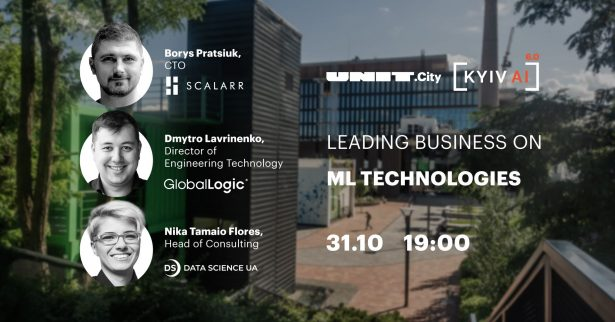 Kyiv AI 6.0: Leading business on ML technologies