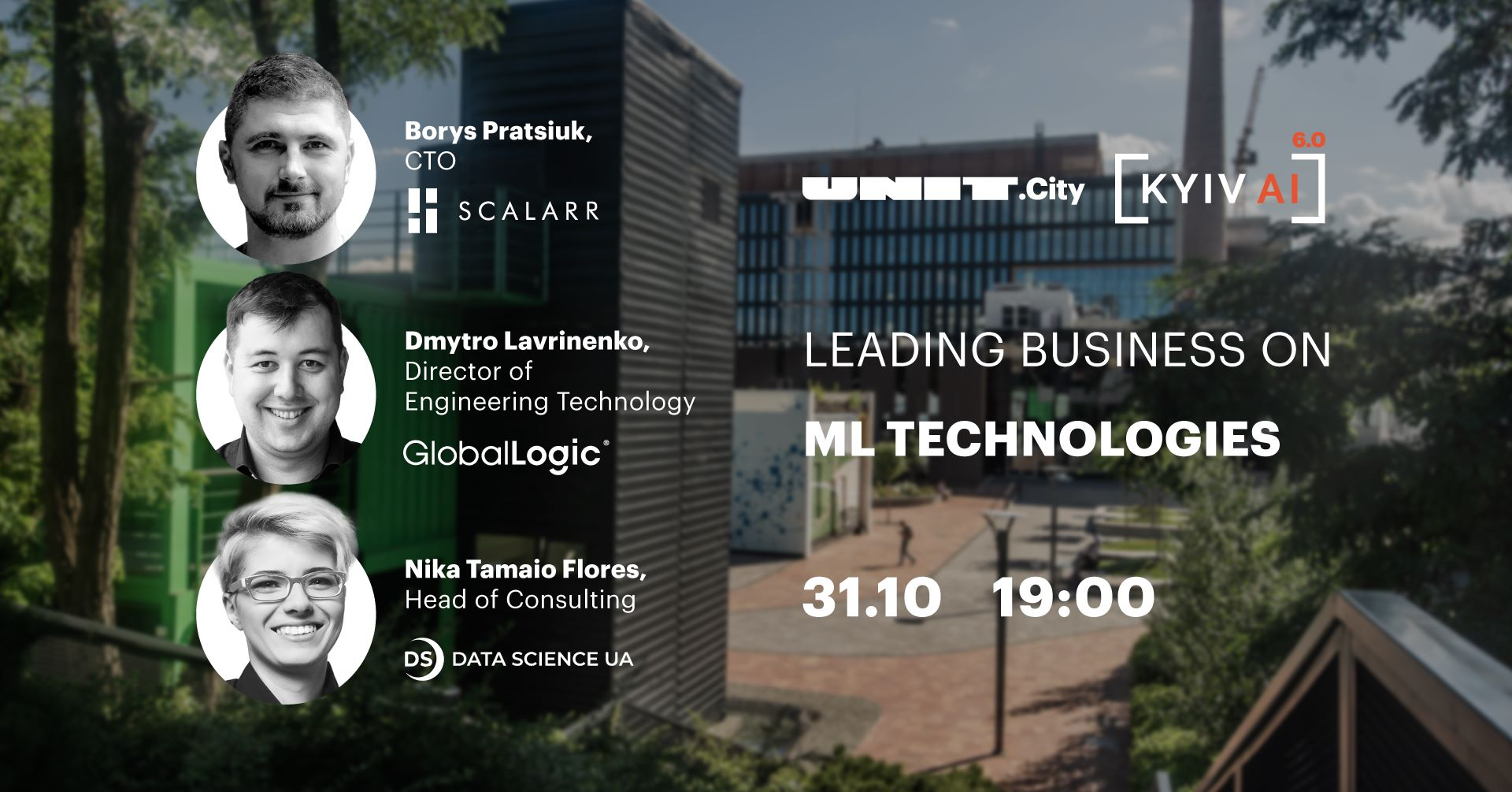 Kyiv AI 6.0: Leading business on ML technologies