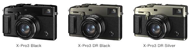 Цвета Fujifilm X-Pro3