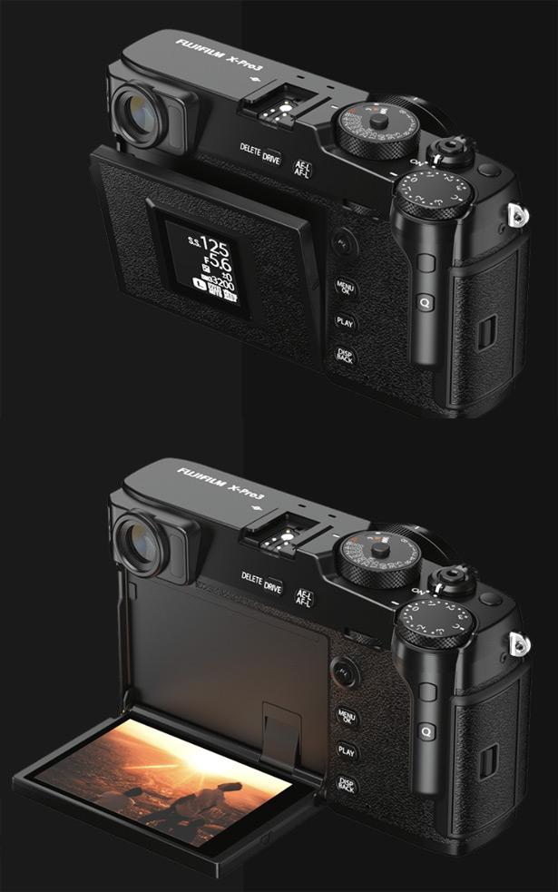 Экран Fujifilm X-Pro3