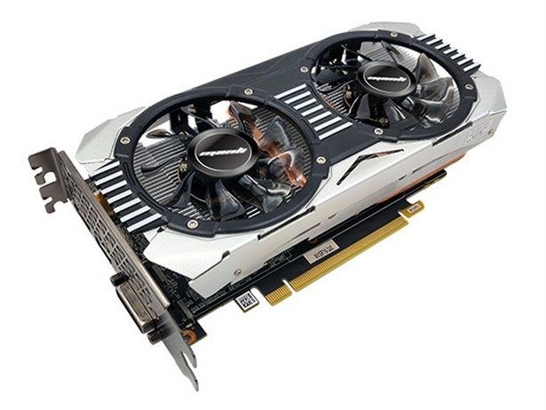 Manli GeForce GTX 1660 Super Heatsink with Blower Fan