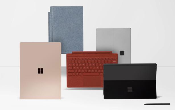 Microsoft Surface семейство