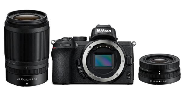 Nikon Z 50 с объективами