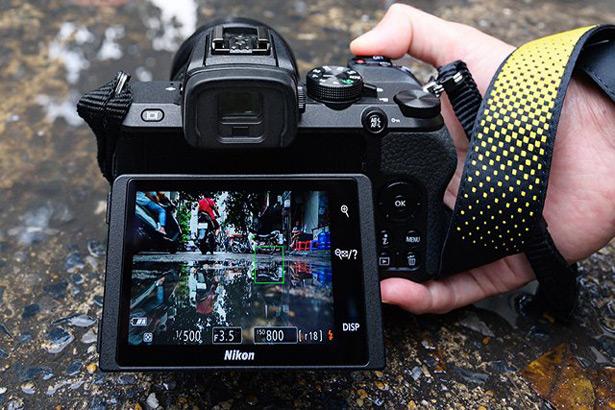 Экран Nikon Z 50