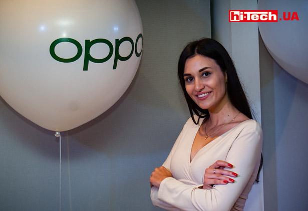 Презентация OPPO в Украине