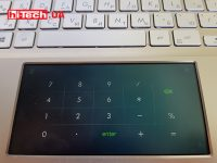 num pad at screen pad 2