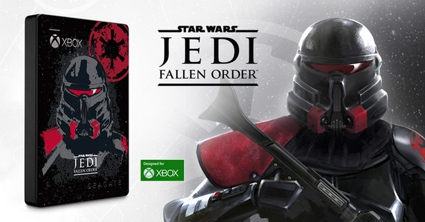 Seagate HDD Xbox Star Wars Fallen Order