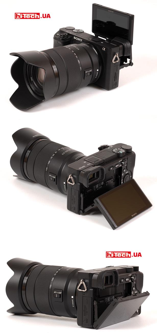Откидной экран Sony a6400