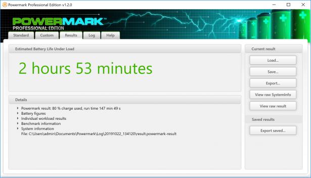 power mark tablet mode 50 brthns min