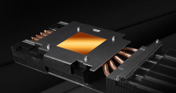 Радиатор видеокарты ASRock Radeon RX 5700 Phantom Gaming D 8G OC
