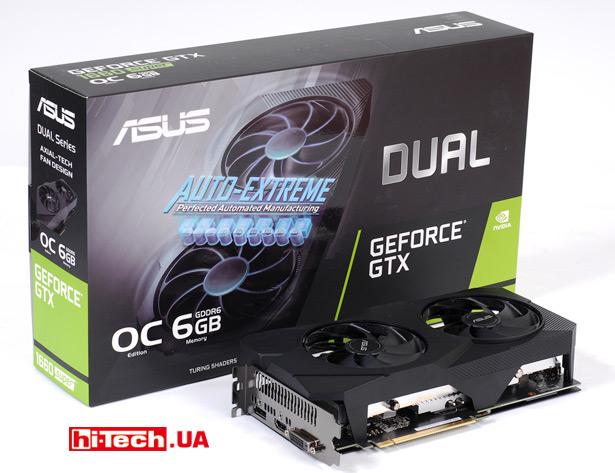 ASUS Dual GeForce GTX 1660 SUPER EVO OC (DUAL-GTX1660S-O6G-EVO)