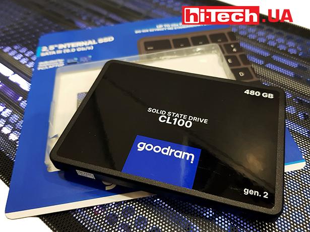 Goodram SSD CL100 SATA III GEN.2