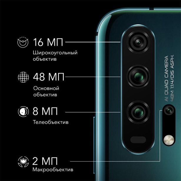 Камера Honor 20 Pro