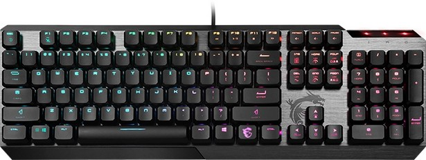 Клавиатура MSI Vigor GK50 Low Profile