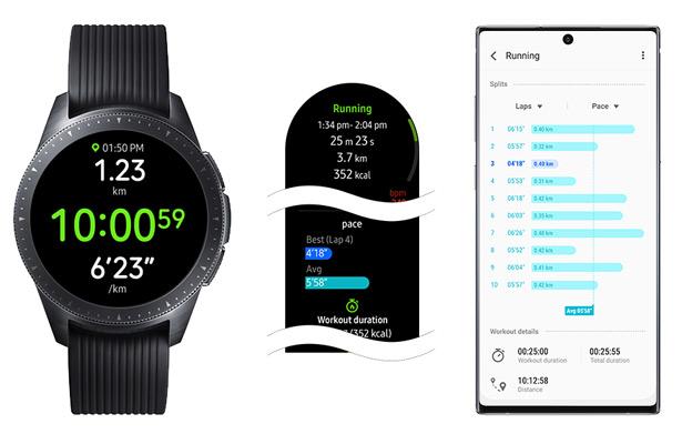 Новая прошивка для часов Samsung Galaxy Watch и Galaxy Watch Active