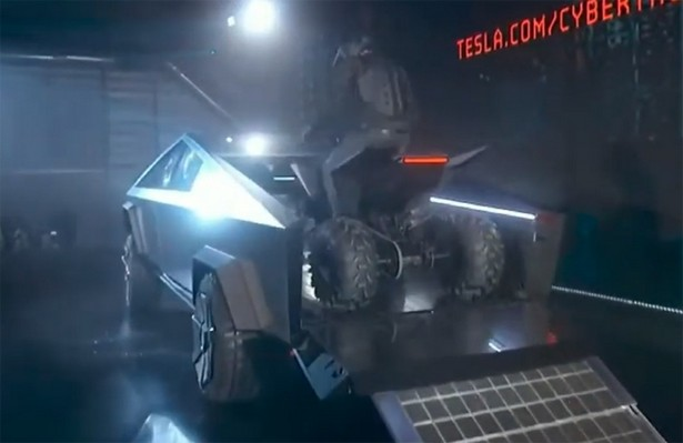 Tesla quad electro bike