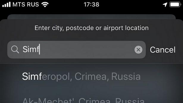 crimea not russian fckn apple