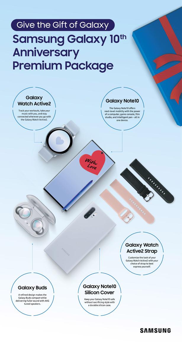 Юбилейный набор Samsung Galaxy