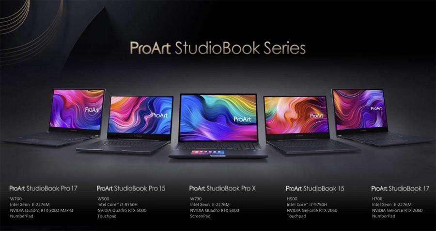 Ноутбуки ASUS ProArt StudioBook