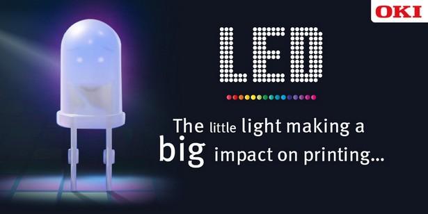 OKi 30 years of LED