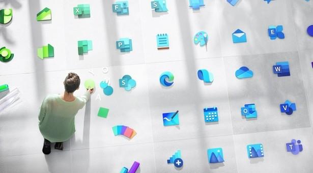 Microsoft apps logo design