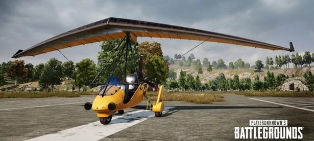 PUBG deltaplane