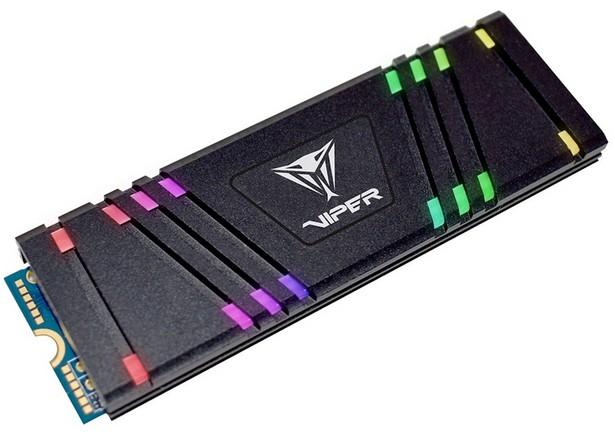 Patriot VPR100 RGB M.2 NVMe SSD