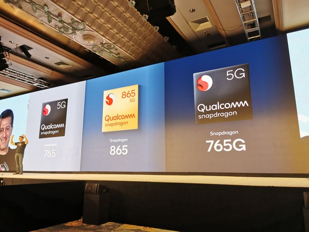 Qualcomm 865 765 и 765G