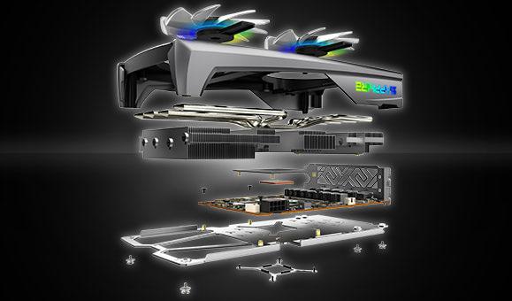 Система охлаждения и плата Sapphire NITRO+ RX 5500 XT 8G GDDR6 SE