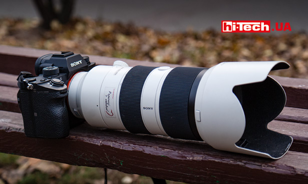 Беззеркальная камера Sony a9 с объективом Sony FE 70–200 мм F28 GM OSS