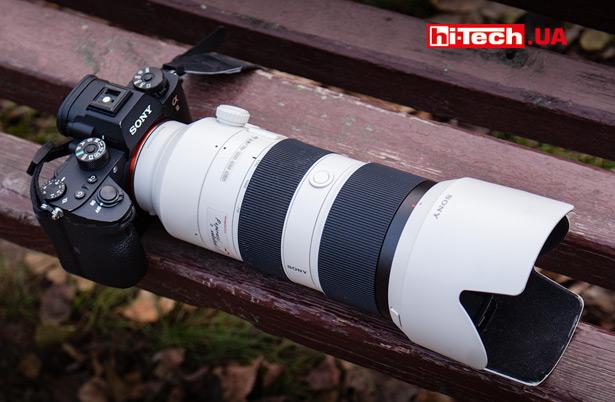 Sony a9 с объективом Sony FE 70–200 мм F28 GM OSS