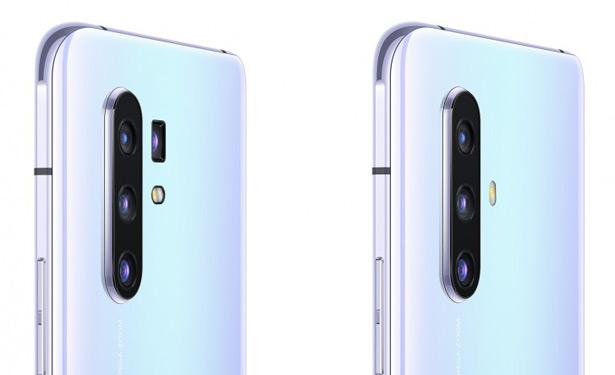 Камеры смартфонов Vivo X30 и X30 Pro (слева)