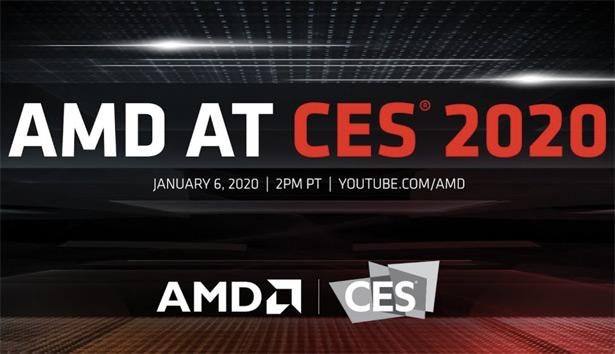 презентации AMD на выставке CES 2020
