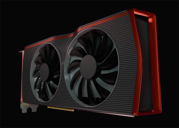 Референсная AMD Radeon RX 5600 XT