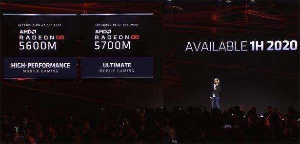 AMD Radeon RX 5600M и RX 5700M