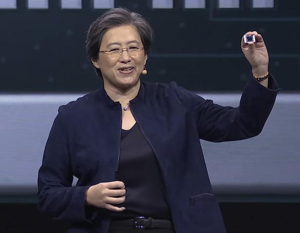 Презентация процессоров AMD Ryzen 4000 на выставке CES 2020